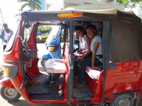 Bajaj with Dorah & Paulyn