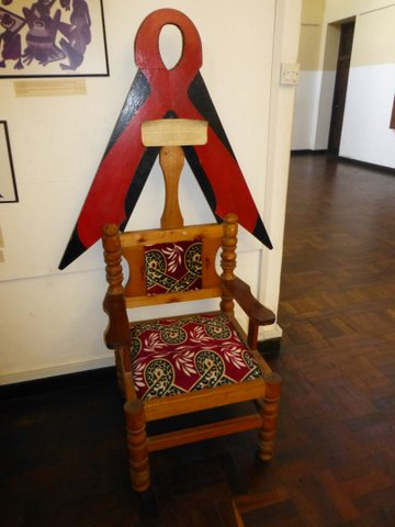 Chair to honor those suffering from aids