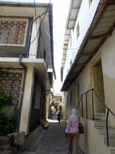 Our debut walking tour in Stone Town's tiny alleys