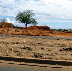 I would soon discover that Tanzania has rich red soil around its country.