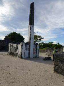 Kaole Mosque dating back to the 13th Century