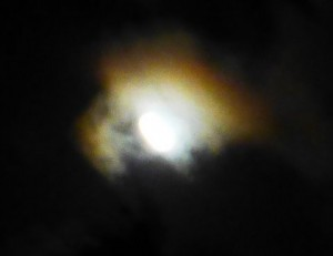 The moon was tempermental.