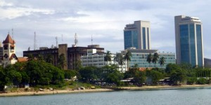 Skyscrapers are now dotting the skyline of Dar es Salaam